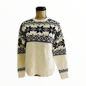 Polo Ralph Lauren Blue Label Fair Isle Sweater S